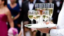 Champagne réception