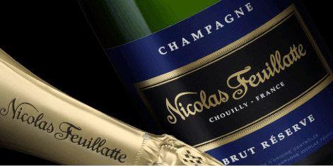 les champagnes Nicolas Feuillatte