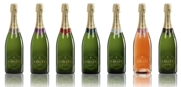 Les champagnes Collet
