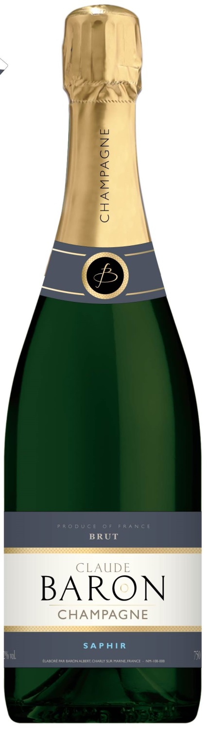 Champagne Saphir Claude Baron